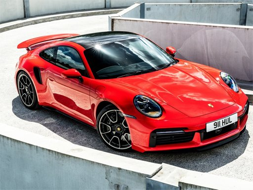 2021 UK Porsche 911 Turbo S Puzzle