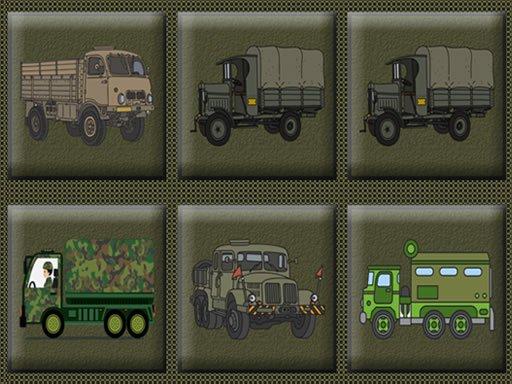 Army Trucks Memory