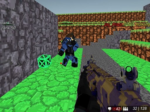 Blocky Wars Advanced Combat SWAT Multiplayer