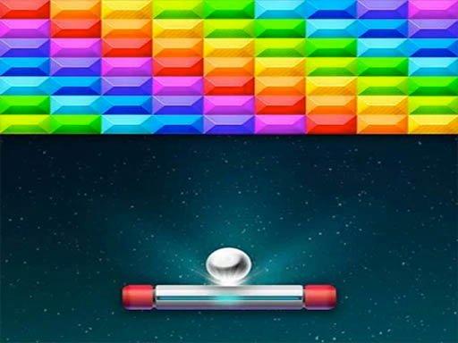 Bricks Breaker Arcade Space Game