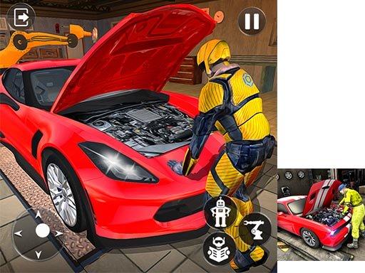 Car Mechanic Auto Workshop Repair Garage