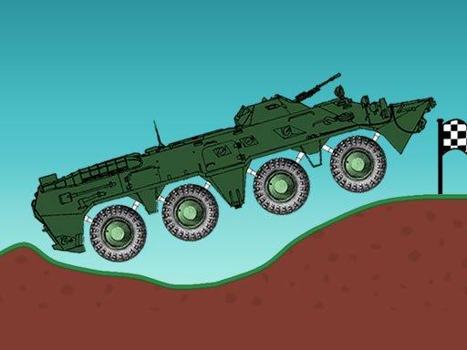 Car Physics BTR-80