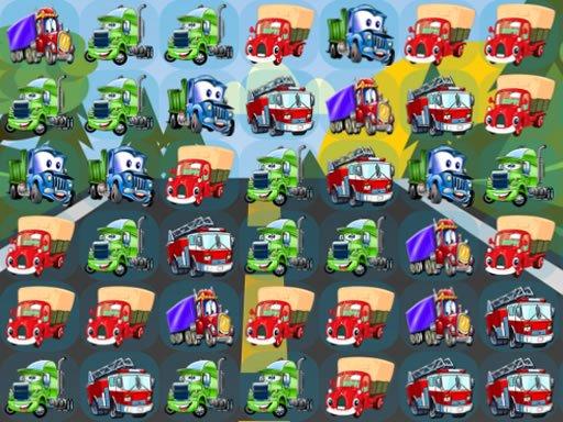 Cartoon Trucks Match 3