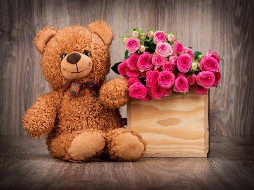 Cute Teddy Bears Puzzle