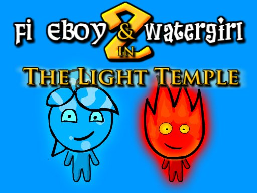 Fireboy And Watergirl 2-the Light Temple