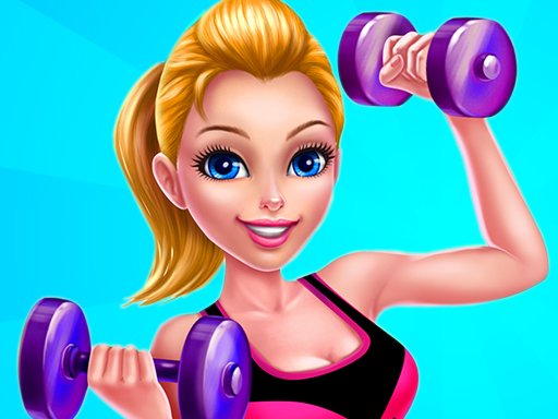 Fitness Girls Dress Up Game