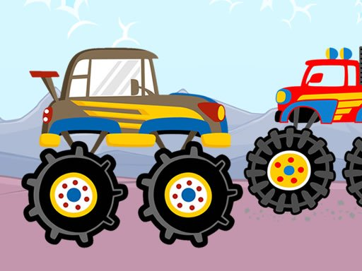 Fun Monster Trucks Jigsaw