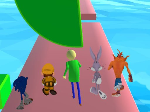 Fun Race 3D - baldi