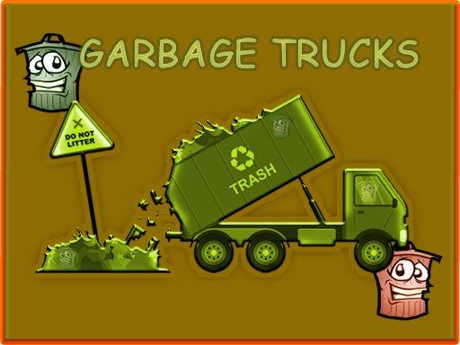 Garbage Trucks - Hidden Trash Can