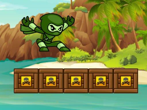 Green Ninja Run