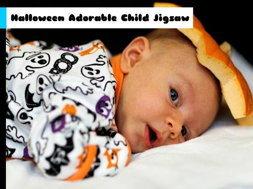 Halloween Adorable Child Jigsaw