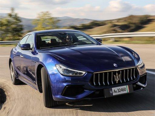 Maserati Ghibli Hybrid Puzzle