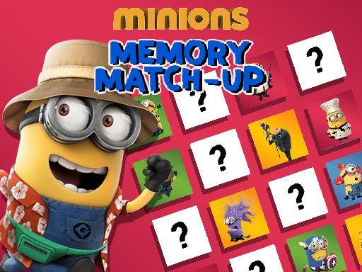 Minions Memory Match Up