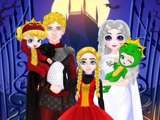 Princess Family Halloween Costume