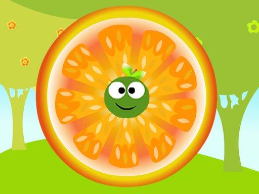 Ricocheting Orange