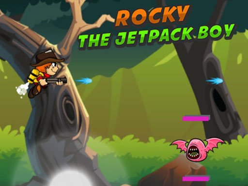 Rocky The Jetpack Boy