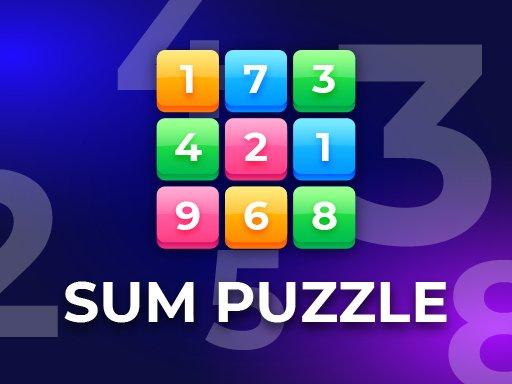 Sum Puzzle: Arithmetic