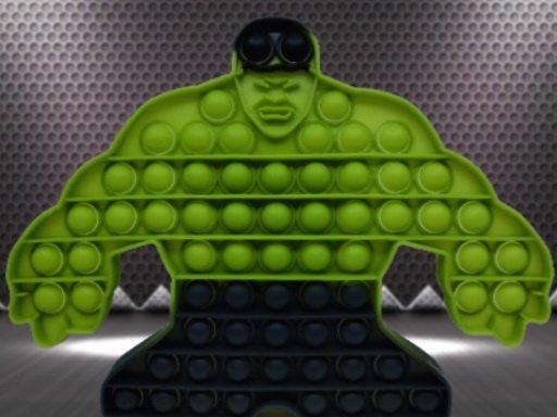Superheroes Pop It Jigsaw