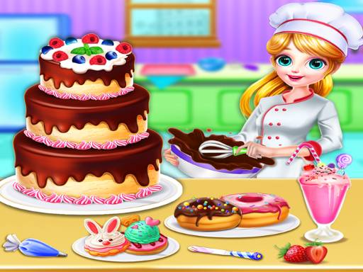 Sweet Bakery Chef Mania- Cake Games For Girls