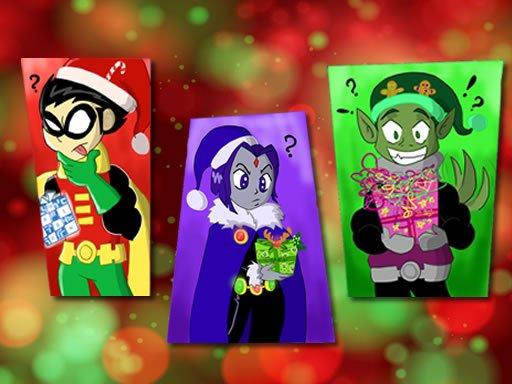 Teen Titans Christmas Stars