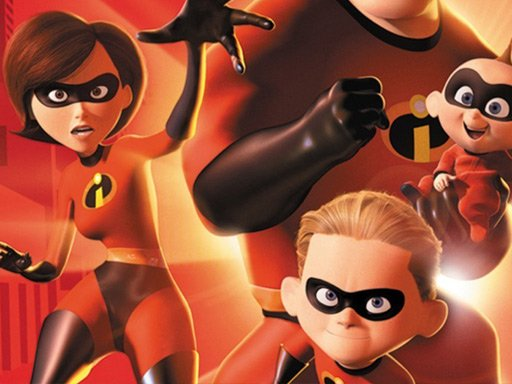 The Incredibles Jigsaw Puzzle Collection