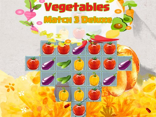 Vegetables Match 3 Deluxe